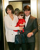 14 Jan 2008 - New York, NY - Katie Holmes, Suri Cruise, and Tom Cruise out for dinner in NYC.   Photo Credit Jackson Lee