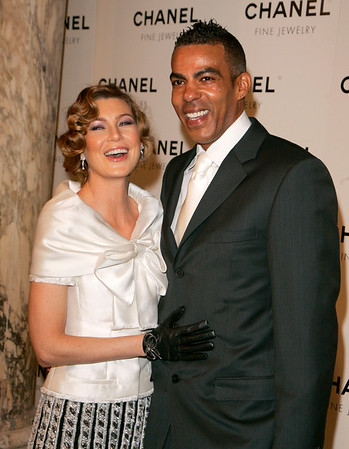16 Jan 2008 - New York, NY - Ellen Pompeo and Chris Ivery at Chanel Fine Jewelry Night of Diamonds event at the Plaza Hotel.   Photo Credit Jackson Lee