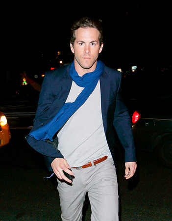 19 Jan 2008 - New York, NY - Ryan Reynolds out for dinner in NYC.   Photo Credit Jackson Lee