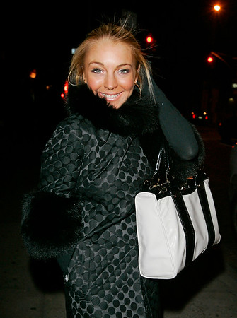 28 Jan 2008 - New York, NY - Lindsay Lohan out and about in NYC.   Photo Credit Jackson Lee