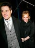 4 March 2008 - New York, NY - Hilary Duff and Mike Comrie out and about in NYC for dinner.   Photo Credit Jackson Lee