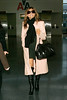 8 March 2008 - New York, NY - Eva Mendes flies out of NYC via JFK Airport three days after her 34th birthday.   Photo Credit Jackson Lee