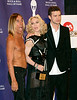 10 March 2008 - New York, NY - Madonna, Justin Timberlake and Iggy Pop at Rock and Roll Hall of Fame    Photo Credit Jackson Lee