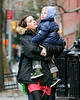 16 March 2008 - New York, NY - Liv Tyler and son Milo out and about in NYC.   Photo Credit Jackson Lee/Tom Meinelt