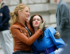18 March 2008 - New York, NY - Blake Lively and Leighton Meester films at the Metropolitan Museum of Art in NYC on the set of Gossip Girl.   Photo Credit Jackson Lee