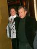 22 March 2008 - New York, NY - Richard Attias and Cecilia Ciganer-Albeniz (Cecilia Sarkozy) depart Gallagher's steakhouse on their way to see Broadway's 'Mamma Mia' at the Winter Garden Theatre.   Photo Credit Jackson Lee/Tom Meinelt