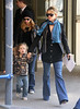 EXCLUSIVE<br /> 30 March 2008 - New York, NY - Kate Hudson takes Ryder out for a day of fun on a sunny day in NYC.   Photo Credit Jackson Lee
