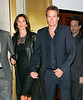 EXCLUSIVE<br /> 2 April 2008 - New York, NY - Cindy Crawford and Rande Gerber out for dinner with George Clooney for the second night in a row.   Photo Credit Jackson Lee