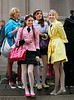 7 April 2008 - New York, NY - Leighton Meester, Taylor Momsen, Nicole Fiscella on the set of  'Gossip Girl'.   Photo Credit Jackson Lee