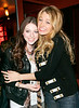13 April 2008 - New York, NY - Blake Lively and Michelle Tractenberg at the afterparty for Ashton Kutcher's performance on SNL.   Photo Credit Jackson Lee