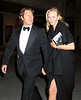 EXCLUSIVE<br /> 14 April 2008 - New York, NY - Arpad Busson and Uma Thurman out and about in NYC.   Photo Credit Jackson Lee