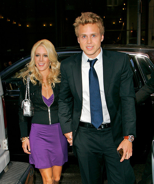 16 April 2008 - New York, NY - Heidi Montag and Spencer Pratt out for a business meeting in Midtown Manhattan.   Photo Credit Jackson Lee