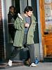 16 April 2008 - New York, NY - Orlando Bloom films 'New York, I love you'.   Photo Credit Jackson Lee