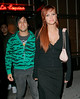 16 April 2008 - New York, NY - Ashlee Simpson and Pete Wentz hang out with Nicole Richie and Joel Madden.   Photo Credit Jackson Lee