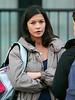 29 April 2008 - New York, NY - Catherine Zeta-Jones films a scene for 'The Rebound'.   Photo Credit Jackson Lee