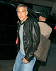4 May 2008 - New York, NY - George Clooney and Sarah Larson arrive at their hotel.   Photo Credit Jackson Lee