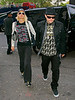 7 May 2008 - New York, NY - Paris Hilton and Benji Madden arrive to NYC.   Photo Credit Jackson Lee