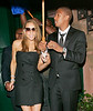 8 May 2008 - New York, NY - Newlyweds Mariah Carey and Nick Cannon make their first public appearance together in NYC as they depart the Waverly Inn after having dinner. The couple proudly display their new wedding rings and is all smiles as they walk hand-in-hand back to their car.   Earlier, Mariah performed live at a Time 100 event.  Photo Credit Jackson Lee
