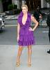12 May 2008 - New York, NY - Charlize Theron arrives at a special Christian Dior Runway show at Gustavino's.  Photo Credit Jackson Lee