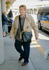 EXCLUSIVE<br /> 17 May 2008 - New York, NY - Cynthia Nixon and Christine Marinoni arrive back to NYC after promoting Sex and the City - The Movie in Europe.  Photo Credit Jackson Lee