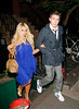 19 May 2008 - New York, NY - Jesse McCartney and Aubrey O'Day out for dinner at the Waverly Inn.  Photo Credit Jackson Lee