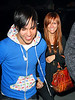 22 May 2008 - New York, NY - First shots of Ashlee Simpson and Pete Wentz after their wedding arriving at their hotel in NYC .  Photo Credit Jackson Lee