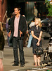 29 May 2008 - New York, NY - Josh Duhamel and Kristen Bell films a scene for 'When in Rome'.  Photo Credit Jackson Lee