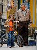5 June 2008 - New York, NY - Robert DeNiro on location for 'Everybody's Fine' in NYC.  Photo Credit Jackson Lee