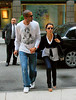 EXCLUSIVE<br /> 8 June 2008 - New York, NY - Eva Longoria, Tony Parker, Mario Lopez have dinner together at Blue Fin, then sign autographs for fans.  Photo Credit Jackson Lee