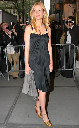 Gwyneth Paltrow<br /> arrives at Christina Applegate triumphant Broadway debut in 'Sweet Charity'<br /> Al Hirschfeld Theatre, NYC<br /> May 4, 2005<br /> LJNY