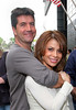 Simon Cowell, Paula Abdul<br /> are seen outside the Mandarin Oriental Hotel in NYC<br /> 05/19/2005<br /> LJNY