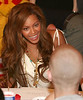 Beyonce Knowles talks to kids undergoing treatment at the Ronald McDonald House NYC - July 30, 2005<br /> NO US