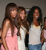 Michelle Williams, Beyonce Knowles, and Kelly Rowland arrive at the Ronald McDonald House NYC to visit kids undergoing treatment - July 30, 2005<br /> NO US