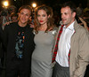 Jonny Lee Miller, Angelina Jolie and Jeremy Gilley at the NY Premiere of 'Peace One Day' at Ziegfeld Theatre - Sept. 21, 2005<br /> <br /> LJNY