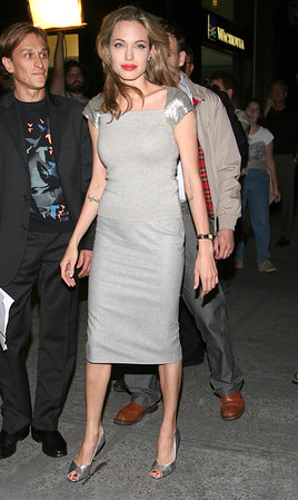 Angelina Jolie at the NY Premiere of 'Peace One Day' at Ziegfeld Theatre - Sept. 21, 2005<br /> <br /> LJNY