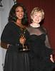 21 November 2005 - New York, NY - Oprah Winfrey and Senator Hillary Rodham Clinton at 2005 International Emmy Awards at the New York Hilton.  Photo Credit Jackson Lee