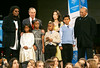 28 November 2005 - New York, NY - Whoopi Goldberg, Lucy Liu, Michael Bloomberg and Quincy Jones at the second annual UNICEF Snowflake lighting ceremony.  Photo Credit Jackson Lee/Admedia