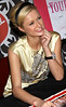 1 December 2005 - New York, NY - Paris Hilton Signs Copies of 'Your Heiress Diary Confess it all to Me' at Virgin Megastore.  Photo Credit Jackson Lee