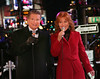 01 Jan 2006 - New York, NY - Regis Philbin and Joy Philbin perform for New Year's Eve 2006 at Times Square, NYC.  Photo Credit Jackson Lee/Admedia