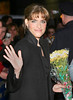 23 February 2006 - New York, NY - Amanda Peet leaves the David Letterman show at the Ed Sullivan Theatre.  Photo Credit Jackson Lee/Admedia