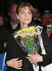 23 February 2006 - New York, NY - Amanda Peet leaves the David Letterman show at the Ed Sullivan Theatre.  Photo Credit Jackson Lee