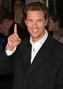 8 March 2006 - New York, NY - Matthew McConaughey at the NY Premiere of 'Failure to Launch'.  Photo Credit Jackson Lee/Admedia