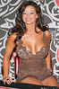 9 March 2006 - New York, NY - Candice Michelle signs copies of the April 2006 issue of Playboy.  She is on the cover and has a spread in the magazine.  Photo Credit Jackson Lee/Admedia