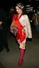 28 March 2006 - New York, NY - Björk (Bjork) seen outside Museum of Modern Art (MOMA).  Photo Credit Jackson Lee