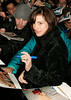 28 March 2006 - New York, NY - Julia Roberts signs autographs outside the location where her Broadway show 'Three Days of Rain' is performing.  Photo Credit Jackson Lee
