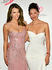 "10 April 2006 - New York, NY - Elizabeth Hurley and Ashley Judd at The Breast Cancer Research Foundation Presents ""The Very Hot Pink Party"" at the Waldorf=Astoria.  Photo Credit Jackson Lee NO US SALE"