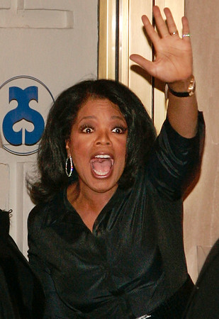 19 April 2006 - New York, NY - Oprah Winfrey arrives at the opening night performance of the broadway play 'Three Days of Rain' starring Julia Roberts.  Photo Credit Jackson Lee/Admedia