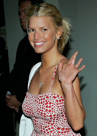 10 May 2006 - New York, NY - Jessica Simpson departs studio.  Photo Credit Jackson Lee/Admedia