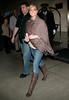 13 May 2006 - New York, NY -  Jaime Pressly departs hotel.  Photo Credit Jackson Lee
