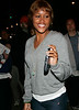 13 May 2006 - New York, NY -  Eve drops her cell phone while walking back to her hotel.  Photo Credit Jackson Lee